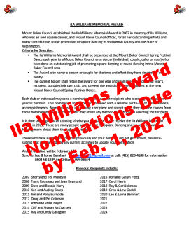 Ila Williams Award