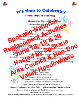 Spokane Area Council & Hoo Doo Valley Hoedowners